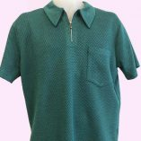 Popover Green Patterned Jersey