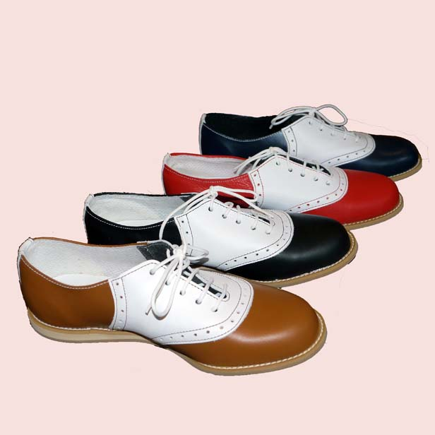 Ladies Terry Smith Saddle Shoes with White Saddle  6f54f1bd73