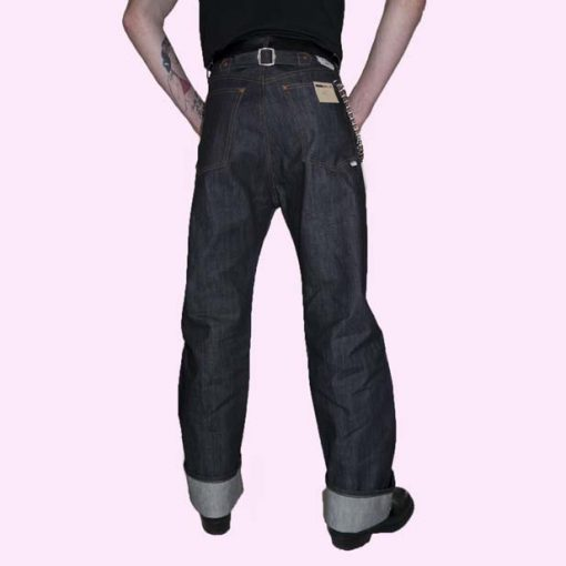 1950s Men's Pants, Trousers | Rockabilly Jeans, Greaser Styles 50s Deck jeans €75.00 AT vintagedancer.com